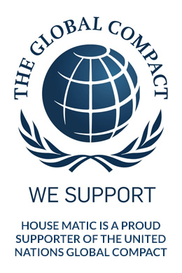 HHOUSE-MATIC is a proud supporter of the united nations global compact
